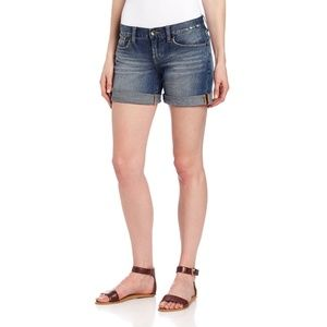 LUCKY BRAND Abbey Double Roll Shorts 00